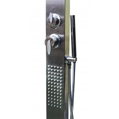 zahradní sprcha - ruční sprchou a integrovanými tryskami