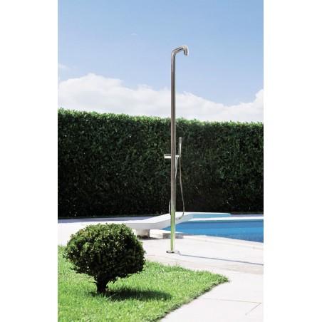JEE-O flow 02 designová sprcha k bazénu nerezová