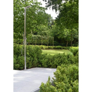Designová sprcha na zahradu JEE-O pure s ruční sprchou