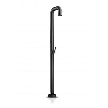 Designová venkovní sprcha z černé matné nerez oceli JEE-O soho 01 s nezámrzným systémem