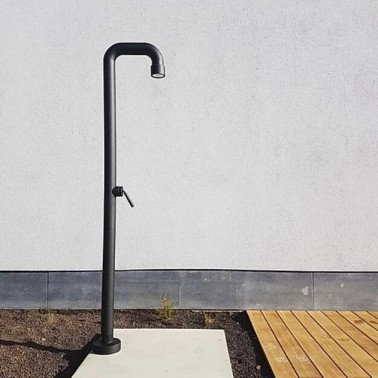 Zahradní sprcha černá Soho 01