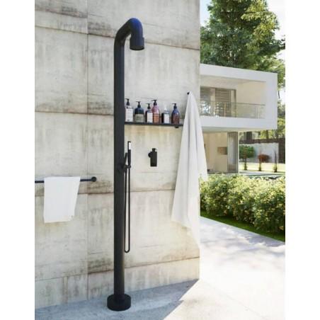 Zahradní sprcha JEE-O soho 02 s ruční sprchou v industriálním stylu