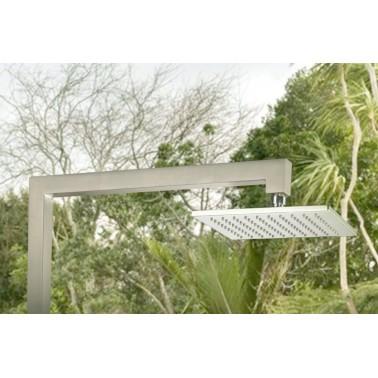 Zahradní sprcha z kvalitní nerezové oceli s dešťovou sprchou
