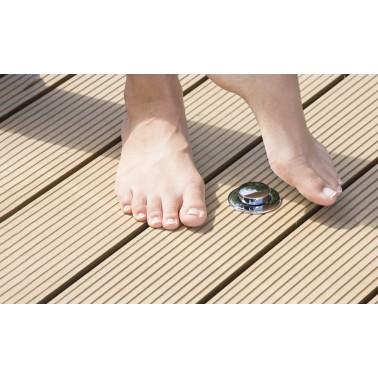 Nášlapný / nožní ventil pro sprchu Ideal Eichenwald Ibiza