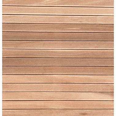 Dřevěný rošt Bangkirai pro venkovní sprchy
