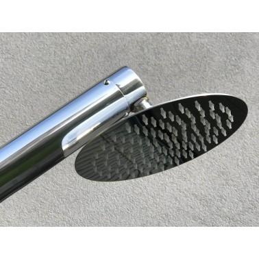 Vnější sprchová hlavice se silikonovými tryskami