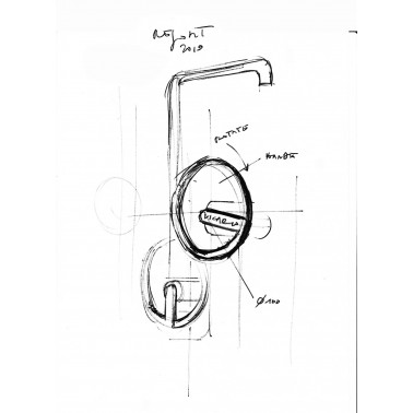 designova venkovni sprcha Resort