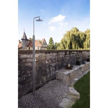 Zahradní sprcha na studenou a teplou vodu Romeo od Ideal Eichenwald