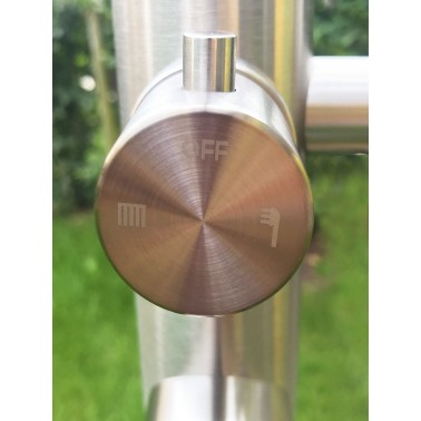 Páková baterie pro přepínání mezi ruční a hlavovou sprchou Juist