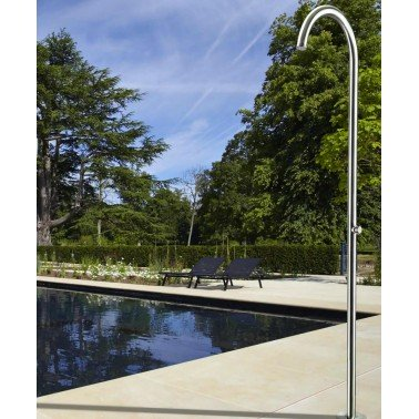 Bazénová sprcha Cometa kartáčovaná nerezová ocel