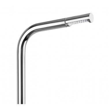 dlouhá integrovaná sprchová hlavice